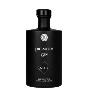 LAUX PREMIUM GIN NO. 2 - 45 % VOL. - 500 ML